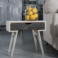 סדנת נגרות - שולחן צד